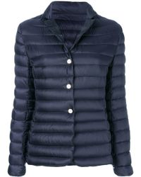 Moncler - Fitted Padded Jacket - Lyst