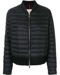 Moncler - Classic Padded Bomber Jacket - Lyst