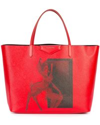 Givenchy - Bambi Print Tote - Lyst