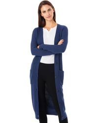 G.H. Bass & Co. - Long Button Front Cardigan - Lyst