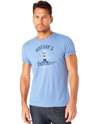 G.H. Bass & Co. - Lighthouse Graphic Tee - Lyst