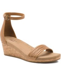 G.H. Bass & Co. - Wendy Wedge Sandal - Lyst