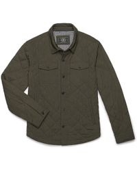 G.H. Bass & Co. - Quilted Shirt Jacket - Lyst