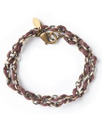 G.H. Bass & Co.   Astali ® Jute Cord With Antique Metal Chain   Lyst
