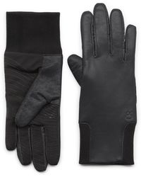 G.H. Bass & Co. | Leather Glove With Knit Cuff | Lyst