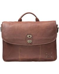 G.H. Bass & Co. - Will Leather Goods ® Kent Messenger - Lyst