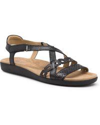 21799da73746 Lyst - Born Timina Sandals in Brown