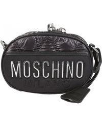e83a1c132b3 Moschino Love Moschino Green Quilted Eco Leather Shoulder Bag in ...