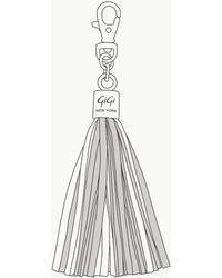Gigi New York - Customizable Tassel Bag Charm - Lyst