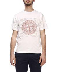 Stone Island - T-Shirt für Herren - Lyst