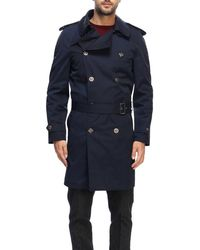 Alessandro Dell'acqua - Trench Coat Men - Lyst