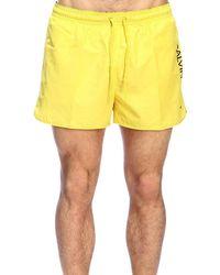4f3bc04e67f56 Calvin Klein Swimwear For Men in Red for Men - Lyst