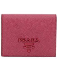 Prada - Wallet Women - Lyst