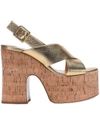 Miu Miu - Heeled Sandals Shoes Women - Lyst