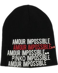 Pinko - Hat Women - Lyst
