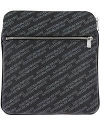 045d3835445a Lyst - Emporio Armani Shoulder Bag Bags Men in Black for Men