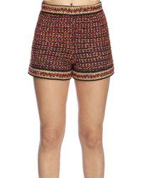 M Missoni - Lurex & Tweed Shorts - Lyst