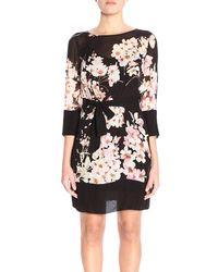 Twin Set - Floral Print Dress - Lyst