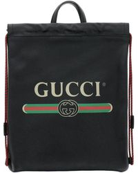 6b488c25 Gucci Gg Caleido Duffle in Black for Men - Lyst