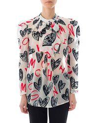 Moschino - Camisa Mujer - Lyst