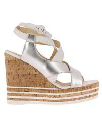 Hogan - Wedge Shoes Women - Lyst