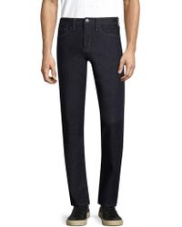Armani Exchange - Rinse Cotton Trousers - Lyst