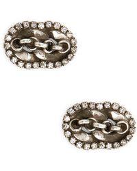 DANNIJO - Kristof Stud Earrings - Lyst