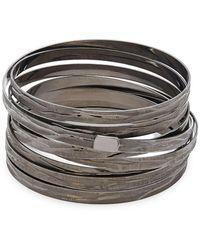 Roberto Coin - Silver Bangle Bracelet - Lyst