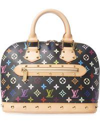Louis Vuitton - Vintage Black Multi Alma Pm Bag - Lyst