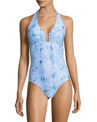 Melissa Odabash - Tampa One Piece Swimsuit - Lyst