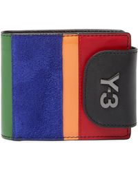 Y-3 - Bifold Leather French Wallet - Lyst