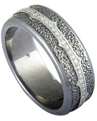 Stephen Webster - Silver & Rhodium 0.34 Ct. Tw. Diamond Ring - Lyst