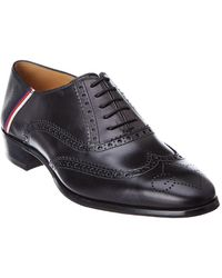 Gucci - Brogue Sylvie Leather Wingtip Oxford - Lyst