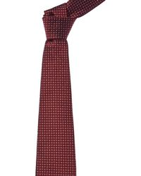 Brooks Brothers - Burgundy Flower Silk Tie - Lyst