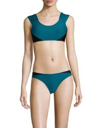 Mouillé Swim - Lupita Bikini Top & Side-panel Bottom - Lyst
