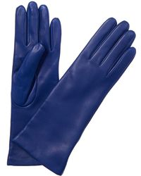 Portolano - Portalano Nappa Leather Blue Sail Gloves - Lyst