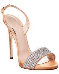 Giuseppe Zanotti - Coline Embellished Ankle Strap Sandal - Lyst