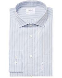 Façonnable - Striped Club Fit Dress Shirt - Lyst