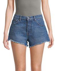 Derek Lam | Drew Classic Cotton Shorts | Lyst