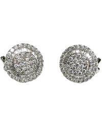 Arthur Marder Fine Jewelry - 18k 1.22 Ct. Tw. Diamond Earrings - Lyst