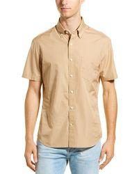 Vince - Poplin Slim Fit Woven Shirt - Lyst