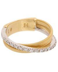 Marco Bicego - Goa 18k Two-tone Diamond Ring - Lyst