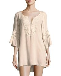 L*Space - Embroidered Coverup - Lyst