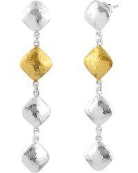 Gurhan Spell 24k Over Silver Earrings