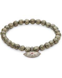 Bavna - Champagne Diamond Faceted Bracelet, 0.36 Tcw - Lyst