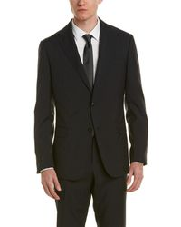 Ermenegildo Zegna - Z Zegna Wool Suit With Flat Front Pant - Lyst