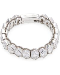 Vendoro - 18k White Gold & 1.71 Total Ct. Diamond Hexagon Link Ring - Lyst