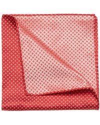 Armani - Geometric Silk Handkerchief - Lyst
