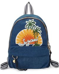 See By Chloé - Andy Denim Sunset Backpack - Lyst