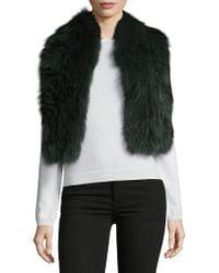 Annabelle New York - Jessa Fox Fur Scarf - Lyst